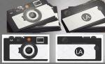طرح لایه باز کارت ویزیت دوربین عکاسی با قالب خاص